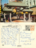 Chinatown, San Francisco, California, United States US Postcard Posted 1978 Stamp - San Francisco