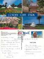 Golden Gate Park, San Francisco, California, United States US Postcard Posted 1993 Stamp - San Francisco