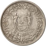 Surinam, 25 Cents, 1989, TTB+, Nickel Plated Steel, KM:14A - Surinam 1975 - ...