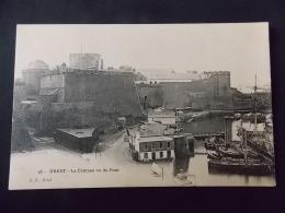 """48 Brest Le Chateau Vu Du Pont """" GB Brest """" - Brest"""