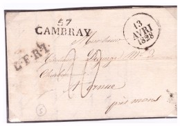 CAMBRAI ,NORD - Postmark Collection (Covers)