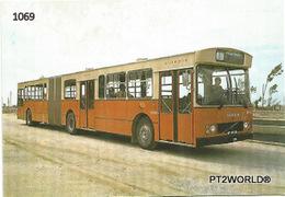 1069 Portugal Porto Autocarro - Volvo B 10 M - 55 A Articº (1983) - Porto