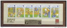 Alderney Aurigny 2001 Yvertn° Bloc 10 *** MNH   Cote 12,50 Euro Golf - Alderney