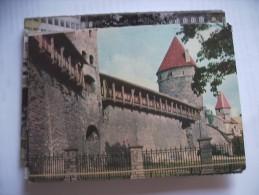 Estland Estonia Eesti Tallinn Town Wall - Estland