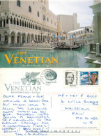 Venetian Hotel Casino, Las Vegas, Nevada, United States US Postcard Posted 2001 Stamp - Las Vegas