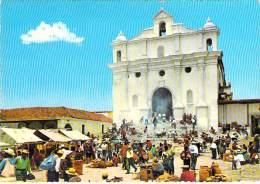 GUATEMALA - CHICHICASTENANGO : IGLESIA DE SANTO THOMAS - CPSM Dentelée GF - - Guatemala