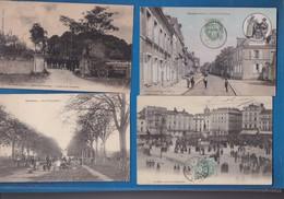 72 SARTHE   Lot De 4 Cartes - France