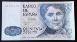 500 Pesetas De ROSALÍA DE CASTRO 1979. SIN CIRCULAR  SERIE A - [ 4] 1975-… : Juan Carlos I