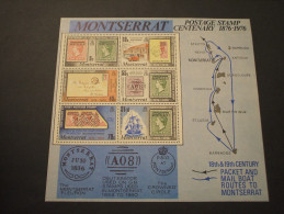 MONTSERAT - BF 1976 CENTENARIO -  NUOVO(++) - Montserrat