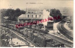 46 - FIGEAC - LA GARE - Figeac
