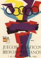 CPSMGF (sport) Juegos Atleticos Iberoamericanos  7 A 12 Octobre 1962 - Olympic Games