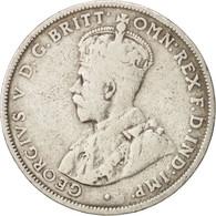 Australie, George V, Florin, 1928, Melbourne, TB, Argent, KM:27 - Monnaie Pré-décimale (1910-1965)