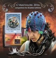 SIERRA LEONE 2016 - Cybathlon, Disabled Athletes S/S. Official Issue. - Handisport
