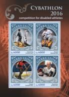 SIERRA LEONE 2016 - Cybathlon, Disabled Athletes. Official Issue. - Handisport