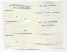Monaco: Carte D'identité Consulaire, 1980 - Unclassified