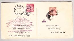 GB U-Boot Expedition Trans-Arctic London 3.10.1930 Nach New-York - 1902-1951 (Rois)