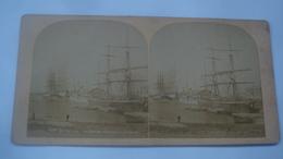 DUNKERQUE LE BASSIN FREYCINET VOILIERS - Cartoline Stereoscopiche