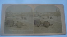 DUNKERQUE L AVANT PORT ET LE QUAI  DE LOGHEU - Cartoline Stereoscopiche