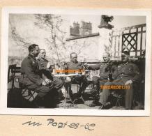 WW2 PHOTO ORIGINALE Soldats Allemands à LES PONTS DE CE Près ANGERS MAINE ET LOIRE 1941 - 1939-45