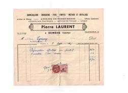 Timbre Fiscaux 03 Septembre 1949 - Fiscale Zegels