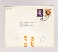 GB LIVERPOOL 8.12.1941 Zensur Brief Nach Milwaukee USA - 1902-1951 (Rois)