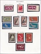 Bulgarie - Collection Vendue Page Par Page - Timbres Neufs *(avec Charnière) / Oblitérés- Qualité B/TB - Gebraucht