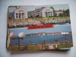 Slovenië Slovenia Izola Pozdrav - Slovenië