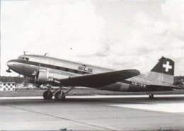 DC3 SLS Schweizerische Luftverkehrsschule Swissair HB-IRN Airlines DC 3  Airplane DC-3 Swiss Air - 1946-....: Moderne