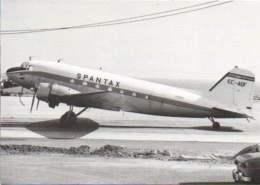 DC3 Spantax Air Airways Airlines DC 3 EC-AQF Airplane DC-3 - 1946-....: Moderne