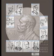 België / Belgium - Postfris / MNH - Sheet Nobel Prijs 2016 - Nuevos