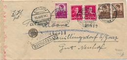 ROMANIA - BRASOV - 1943 , Brief Nach Schillingsdorf / Graz  - Zensur - Roumanie