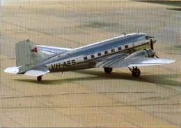 DC3 TAA Trans Australia Airlines DC 3 VH-AES Airplane DC-3 - 1946-....: Era Moderna
