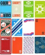 12 Dos De Carte  : Banque - Cartes à Jouer Classiques