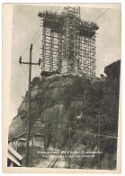 RB 1131 - Real Photo Postcard - The Erection Of Christ The Redeemer Statue - Rio De Janeiro Brazil - Scaffolding (2) - Rio De Janeiro