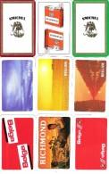 9 Dos De Cartes  : Cigarette, Tabac - Cartes à Jouer Classiques