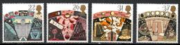 FJ2610 : Grande-Bretagne Yvert N°1490 à 1493 Neuf 1990 Astronomie - 1952-.... (Elizabeth II)