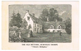 RB 1131 - Early Postcard - The Old Rectory - Burnham Thorpe Norfolk - Nelson & Croquet - Sport Theme - Other