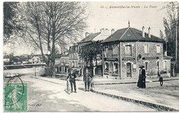 JOINVILLE LE PONT - La Poste  - Facteurs A Bicyclette     (92745 A)) - Joinville Le Pont