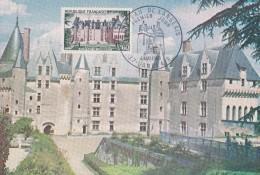 Carte 4 MAI 1968 Chateau De Langeais / CARTE PREMIER JOUR - Langeais