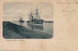ALGÉRIE - Steamer Garée à Kantara - Batna