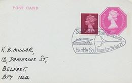 GREAT BRITAIN -  GRAN BRETAGNA - MOTONAUTICA - SEALINK POWERBOAT CHAMPIONSHIP HAMBLE '73