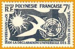 Polynésie **LUXE 1958 P 12 - Französisch-Polynesien