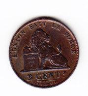BELGIUM Cat Morin 104, UNC,  (B200) - 1831-1865: Leopold I