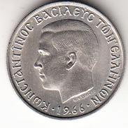 GRECIA 1966   2 DRACMAS REY CONSTANTINO    EBC   CN4040 - Grecia