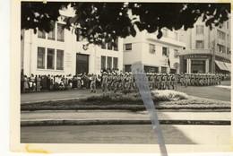 GUERRE ALGERIE MOSTAGANEM 14 Juillet 1957 Défilé Légion Rotonde Banque Nationale 5ème DB - War, Military