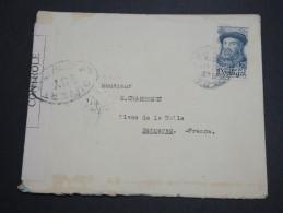PORTUGAL - Enveloppe De Porto Pour La France En 1945 Avec Contrôle Postal - A Voir - L 5911 - 1910-... République