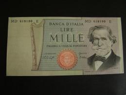 1979   1000 LIRE II TIPO VERDI  FDS FIOR DI STAMPA - [ 2] 1946-… : Républic