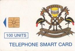 Uganda - Telecom Logo 100 Un. - UGA-18