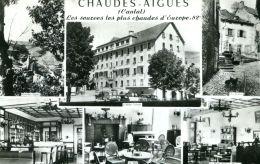 N°52776 -cpsm Chaudes Aigues -l'hotel Valette- - Other Municipalities