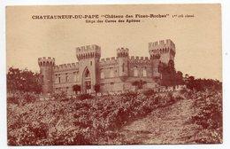 CHATEAUNEUF DU PAPE--1940-Chateau Des Fines-Roches 1er Cru Classé (vin)-Caves Des Apôtres--59-RAISMES (brasserie) - Chateauneuf Du Pape